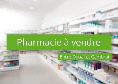 Pharmacie à vendre entre Douai et Cambrai