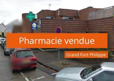 Pharmacie Vendue à Grand Fort Philippe