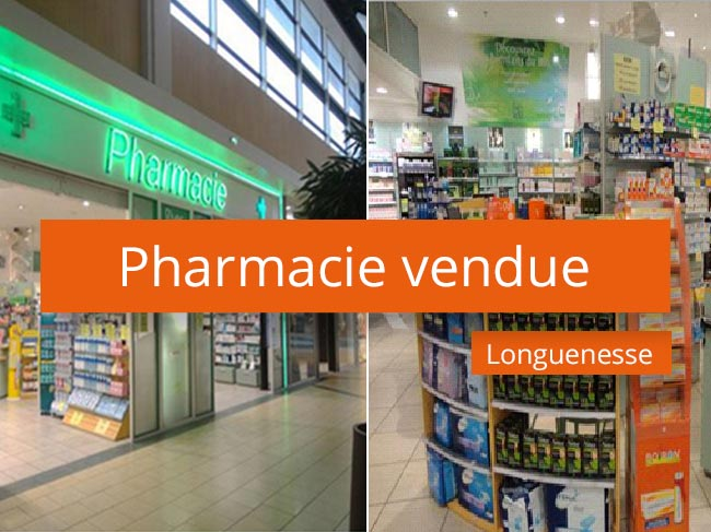 Pharmacie vendue à Longuenesse