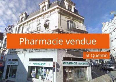 Pharmacie vendue à St Quentin