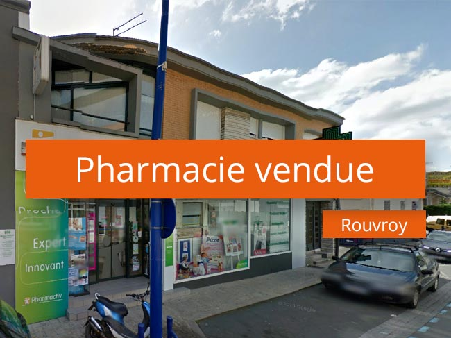 Pharmacie à vendre Secteur Métropole