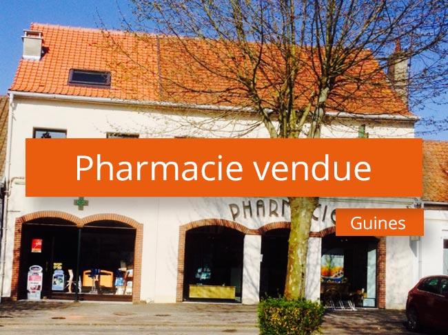 Pharmacie vendue secteur Cote d'Opale