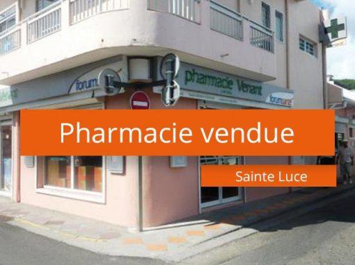 Pharmacie à vendre à la Martinique Sud
