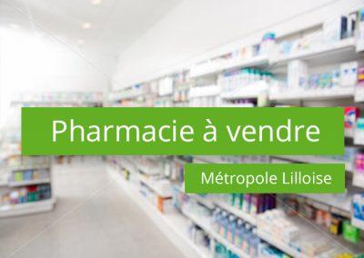 Pharmacie à vendre Secteur Lille centre