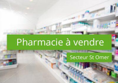 Pharmacie à vendre secteur Saint Omer