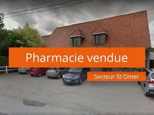 Pharmacie vendue secteur St-Omer