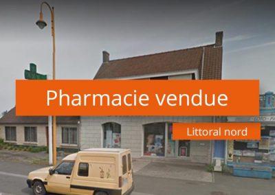 Pharmacie à vendre secteur Littoral Nord