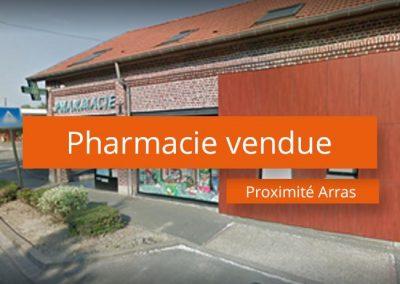Pharmacie à vendre proximité Arras