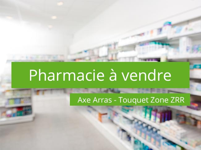 Pharmacie à vendre Axe Arras – Touquet