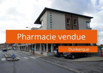 Pharmacie vendue Dunkerque