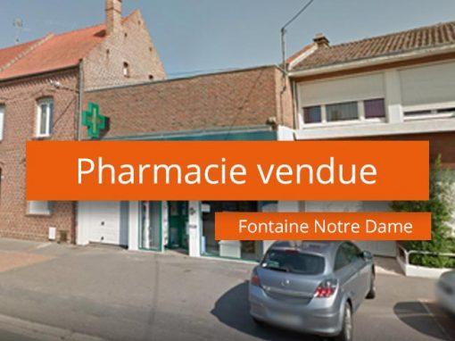 Pharmacie à vendre Secteur Cambrai