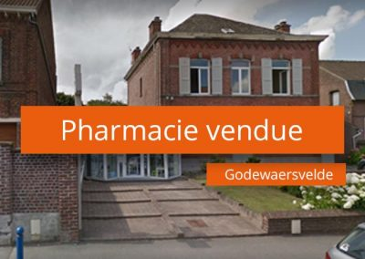 Pharmacie à vendre au Cœur des Flandres