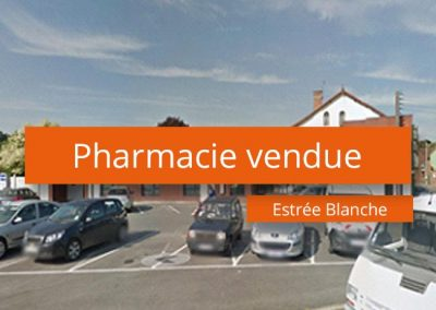 Pharmacie à vendre secteur Aire sur la Lys