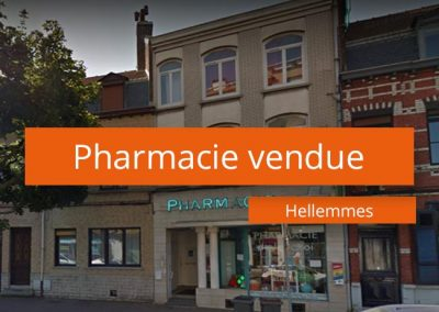 Pharmacie vendue Hellemmes