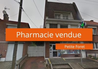 Pharmacie à vendre Périphérie Valenciennes