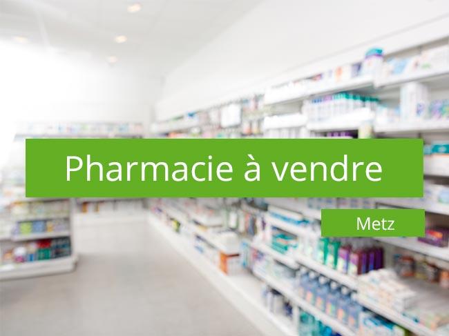 Pharmacie à vendre Metz