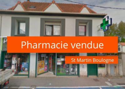 Pharmacie à vendre secteur Boulogne