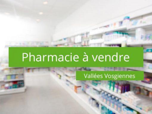 Pharmacie à vendre Vallées Vosgiennes
