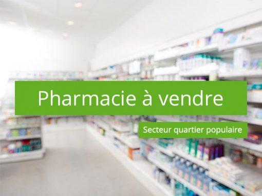 Pharmacie à vendre Secteur quartier populaire