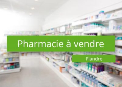 Pharmacie à vendre Flandre