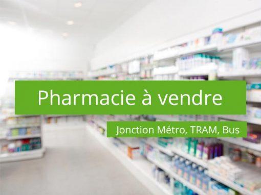 Pharmacie à vendre jonction métro tram bus