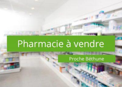 Pharmacie à vendre proche de Béthune
