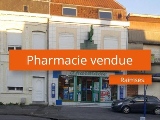 Pharmacie à vendre secteur Valenciennes