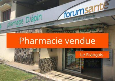 Pharmacie à vendre en Martinique Sud – Est