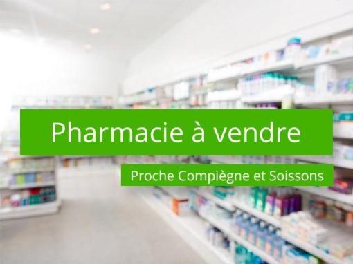 Pharmacie à vendre Proche Compiègne et Soissons