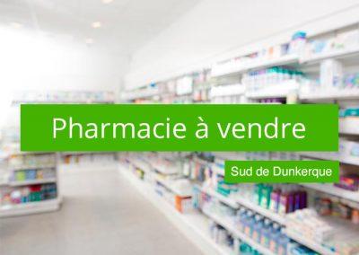 Pharmacie à vendre sud de Dunkerque