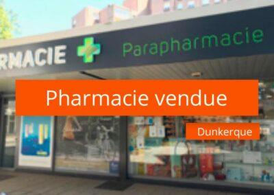 Pharmacie à vendre secteur Littoral