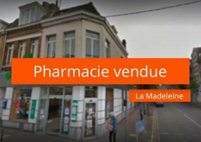 Pharmacie à vendre en métropole de Lille