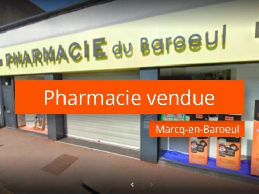 Pharmacie à vendre Marcq-en-Barœul