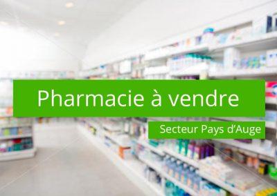 Pharmacie à vendre Secteur Pays d'Auge