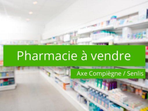 Pharmacie à vendre axe Compiègne / Senlis