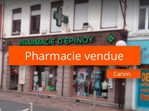 Pharmacie à vendre secteur 20 minutes de Lille