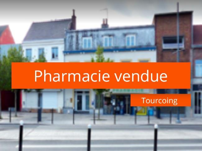 pharmacie à vendre métropole Lilloise
