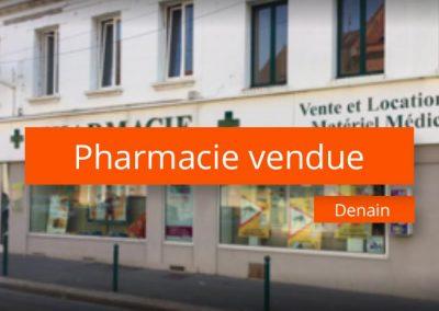Pharmacie à vendre Secteur valenciennois