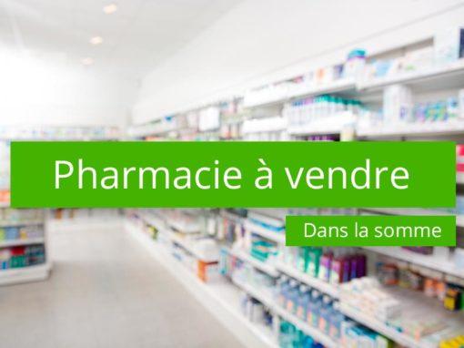 Pharmacie à vendre campagne de la Somme