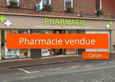 Pharmacie à vendre axe Arras – Béthune
