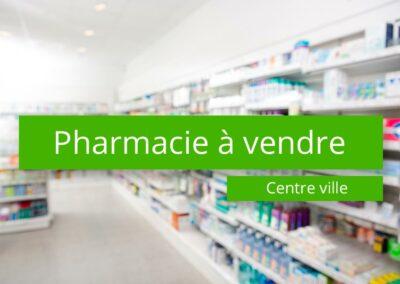 Pharmacie à vendre centre ville