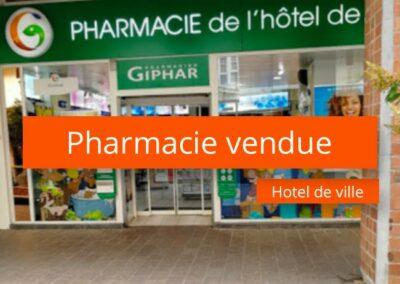 Pharmacie à vendre à Lille